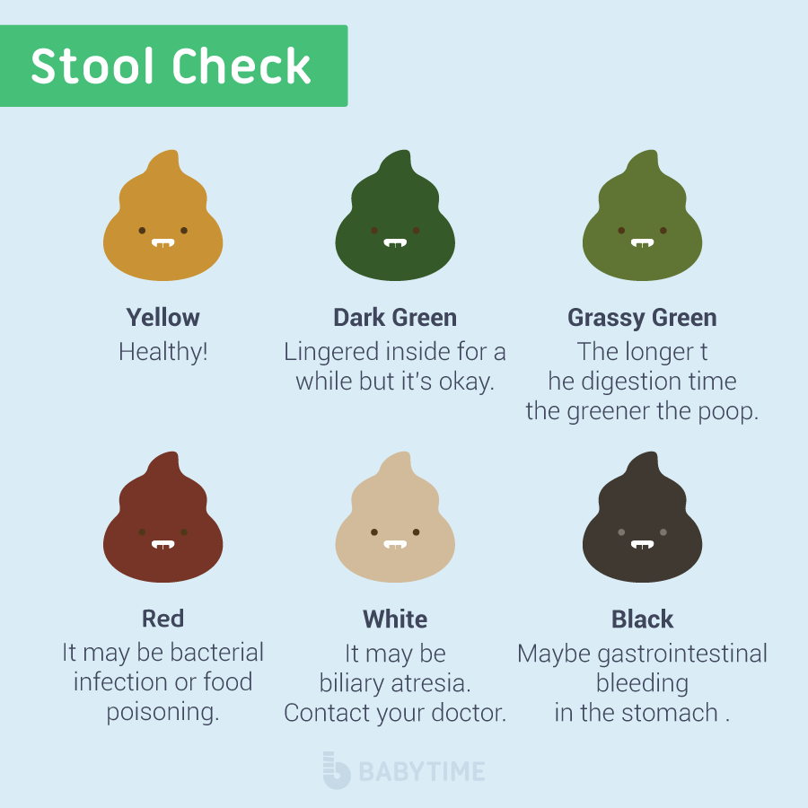 What Does It Mean When Your Stool Comes Out Green: Baby Poop 101